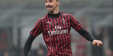 AC Milan Bisa Bernapas Lega, Zlatan Ibrahimovic Bukan Cedera Achilles