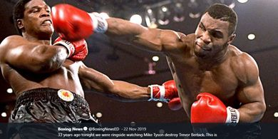 Turun 30 Kg, Tubuh Mike Tyson Kembali ke Zaman Jadi Juara Tak Terbantahkan