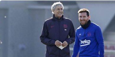 Pelatih Barcelona Tak Tersinggung Ucapan Messi soal Liga Champions