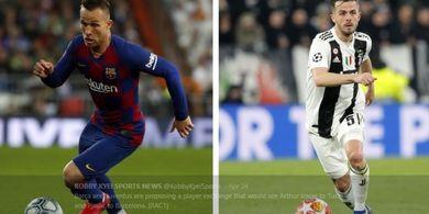 Pertukaran Arthur-Miralem Pjanic adalah Transfer Barcelona Paling Tak Masuk Akal!