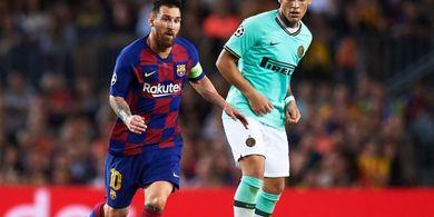 Ingin Gabungkan Lautaro Martinez dan Lionel Messi di Barcelona? Eits Tak Semudah Itu!