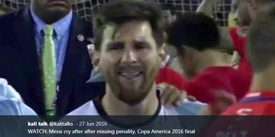 Copa America Ditunda, Lionel Messi Rasakan Kesedihan Dua Kali Lipat
