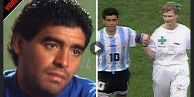 Kenapa Diego Maradona Pakai Dua Jam Tangan? Alasannya Mengharukan