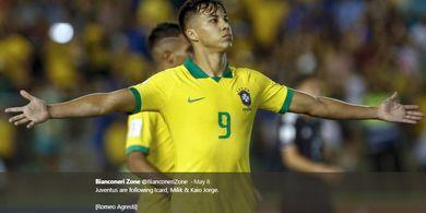 Juventus dan AC Milan Kecele, Di-Prank Agen soal Kontrak Wonderkid Santos