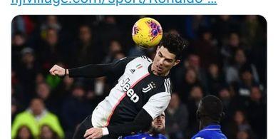 Punya Gaya Rambut Baru, Crsitiano Ronaldo Minta Persetujuan Fans