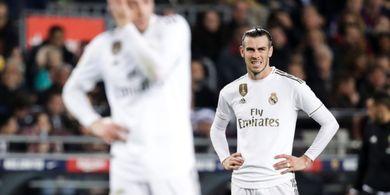 Gareth Bale Kembali Bertingkah Konyol Saat Jadi Pemain Cadangan di Laga Real Madrid