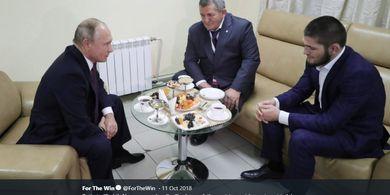 Dianggap Sosok Istimewa, Presiden Rusia Beri Penghormatan kepada Mendiang Ayah Khabib Nurmagomedov