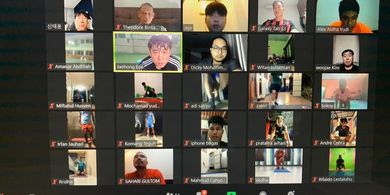 Variasi Menu Latihan Virtual Timnas U-19 Indonesia Buat Pemain Enjoy