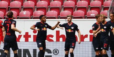 Cetak Hat-trick, Timo Werner Samai Rekor yang Bertahan 21 Tahun di Bundesliga