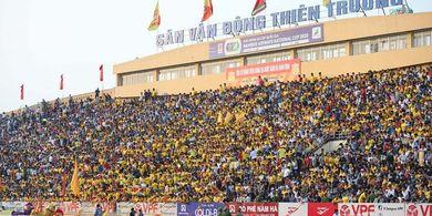 Vietnam Nekat Gelar Laga Perdana dengan Ribuan Penonton di Tengah Pandemi Virus Corona