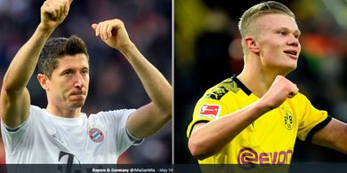 Terlalu Dini untuk Bandingkan Erling Haaland dengan Robert Lewandowski