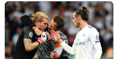 Lewat 3 Kata, Bale Hibur Karius yang Lakukan 2 Blunder di Final Liga Champions