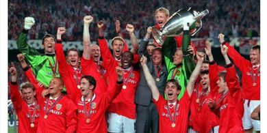 On This Day - Dalam 3 Menit, Man United Hajar Muenchen di Final Liga Champions 1999