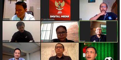 Lewat Rapat Virtual, PSSI Segera Kukuhkan APSSI Jadi Anggota Organisasi
