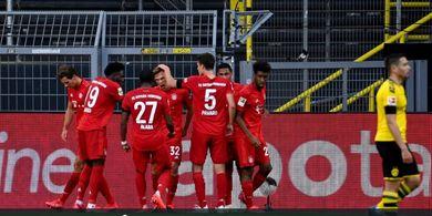 Hasil Bundesliga - Der Klassiker Edisi ke-126 Jadi Milik Bayern Muenchen