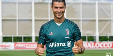 Agar Tak Sering Diganti, Cristiano Ronaldo Hadiri Latihan Juventus 4 Jam Lebih Awal