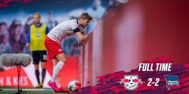 Hasil Lengkap dan Klasemen Bundesliga - Striker Incaran Liverpool Melempem, Leipzig Batal Gusur Borussia Dortmund