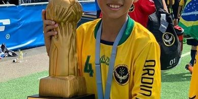 Pesepak Bola Keturunan Indonesia yang Kini Perkuat Klub Brasil Sampaikan Pesan COVID-19