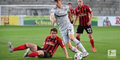 Bayer Leverkusen Curi 3 Poin di Markas Freiburg, Kai Havertz Cetak Rekor Fantastis