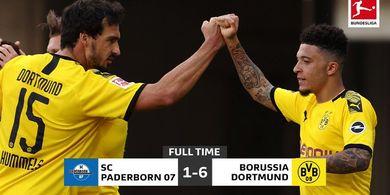 Paderborn vs Borussia Dortmund, Partai Bundesliga Paling Sopan