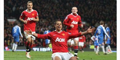 Kata Chicarito, Ada Perbedaan Saat Main di Man United dan Real Madrid