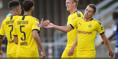 Hasil Bundesliga - Borussia Dortmund Mengamuk dan Bantai Paderborn