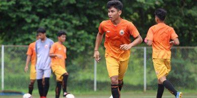 Pengalaman Striker Persija TC di Luar Negeri Bersama Timnas U-19 Indonesia