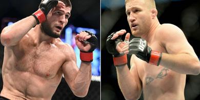 Ayah Khabib Meninggal Jelang UFC 253, Justin Gaethje Kirim Pesan Menyayat Hati