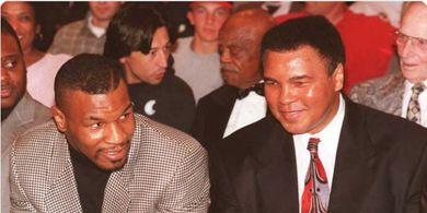 Alasan Mike Tyson Merasa Tak Bisa Kalahkan Muhammad Ali di Ring Tinju