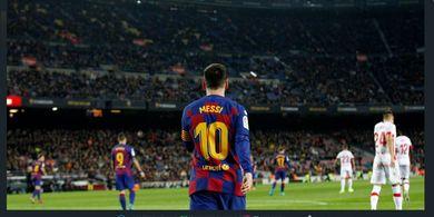 Pelatih Barcelona Tepis Rumor Soal Rencana Hengkang Lionel Messi