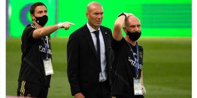 Zinedine Zidane Raih Kemenangan Ke-100 sebagai Pelatih Real Madrid