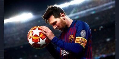 Seperti Kiper, Lionel Messi Tak Tergantikan di Barcelona