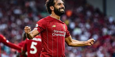 Hasil Liga Inggris - Mohamed Salah Nyekor 2 Gol, Liverpool Semakin Dekat dengan Rekor Manchester City