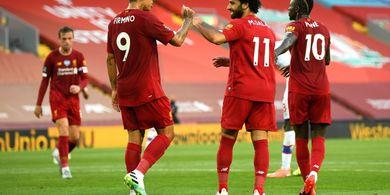 Alasan Juergen Klopp Cadangkan Mo Salah dan Roberto Firmino di Laga Kontra Burnley