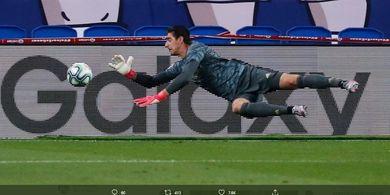 Lupakan Keylor Navas! Real Madrid Sudah Miliki Tembok Kokoh Bernama Courtois