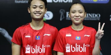 PBSI Home Tournament - Akbar/Winny Akui Sulit Bendung Praveen/Melati