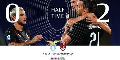 Babak I Liga Italia - Calhanoglu dan Ibrahimovic Moncer, AC Milan Unggul 2-0