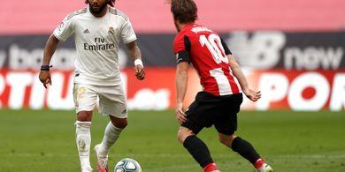 Hasil Babak I - Banyak Terancam, Real Madrid Tahan Athletic Bilbao 0-0