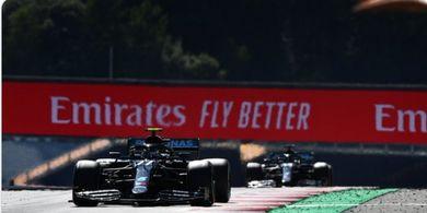Hasil P2 Formula 1 GP Rusia 2020 - Bottas Kembali Jadi Pembalap Tercepat