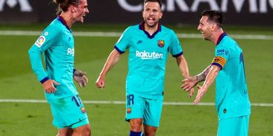 Cetak Gol Indah ala Lionel Messi, Pelatih Barcelona Puji  Antoine Griezmann