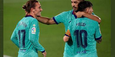Keren! 10% Gol Barcelona Ternyata Disumbangkan Oleh Lionel Messi