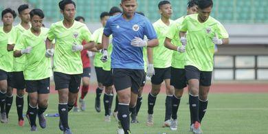 Gunakan Masker dan Sarung Tangan, TC Timnas U-16 Indonesia Terasa Aneh