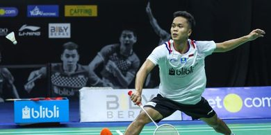 Hasil Undian Perempat Final PBSI Home Tournament - Anthony Mudah, Jonatan Susah
