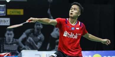 Hasil PBSI Home Tournament - Anthony Sinisuka Ginting Menang Lagi