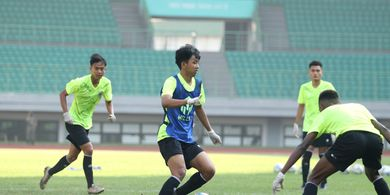 Demi Kesehatan, Pemain Muda Persija Taati Protokol Kesehatan di TC Timnas U-16 Indonesia