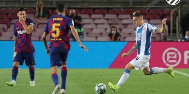 Hasil Babak I - Barcelona Ditahan Tim Kurcaci Tanpa Gol
