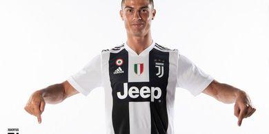 Tak Jadi Pemain Terbaik Liga Italia, Cristiano Ronaldo Jadi Pemain Terbaik Juventus