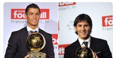 Saat Ronaldo dan Messi Satu Tim, Kerja Sama Cetak Gol Salto