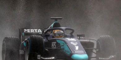 Finis ke-10 pada GP F2 Styria 2020, Sean Gelael Raih Poin Pertama