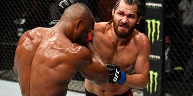 Hasil UFC 251 - Monster Kardio Beraksi Lagi, Kamaru Usman Pelan-pelan Habisi Jorge Masvidal